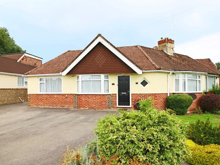 New Price: Well presented two double bedroom, semi detached bungalow situated on a corner plot wit