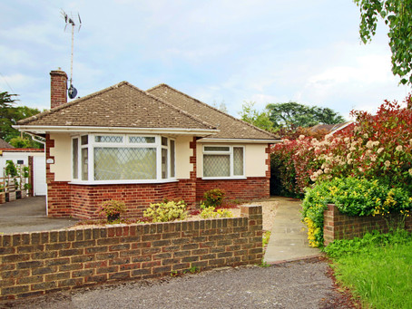 New Price: A well maintained and updated detached bungalow with potential to convert the loft space