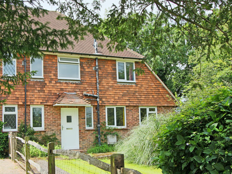 New: Larger than average semi-detached house with a garden on 3 sides and having a frontage of 133ft