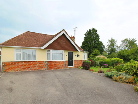 New: Well presented two double bedroom, semi detached bungalow situated on a corner plot with ...
