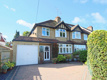 New: Deceptively spacious 1930's built semi-detached house, sympathetically updated and decorated.