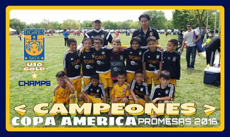 Academy TIGRES U10 Champions Copa Promesas March 2016.
