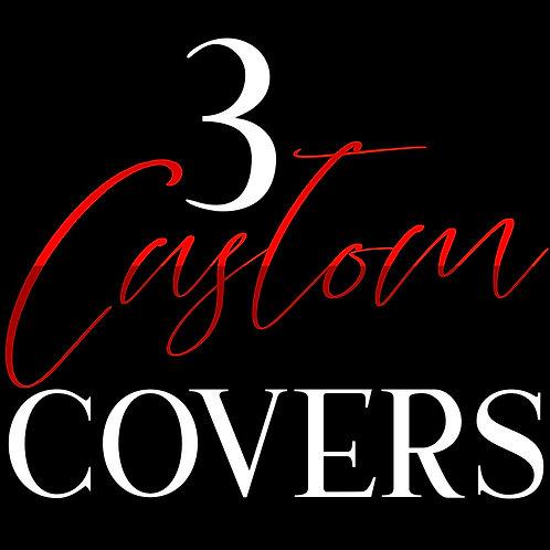 3 Custom Cover Deal w/paperback