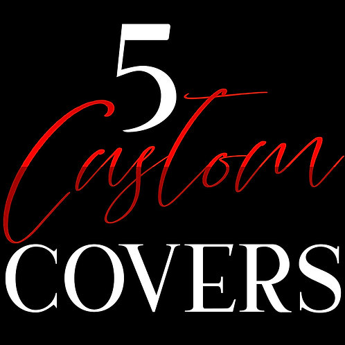 5 Custom Cover Deal w/ Paperback