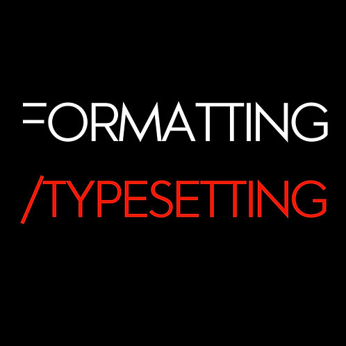 Formatting/ Typesetting Bundle Pack (6)