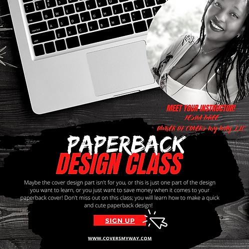 Paperback Design Class