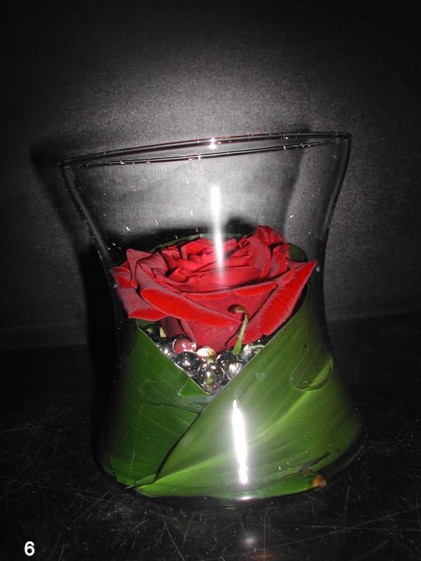 verre de rose
