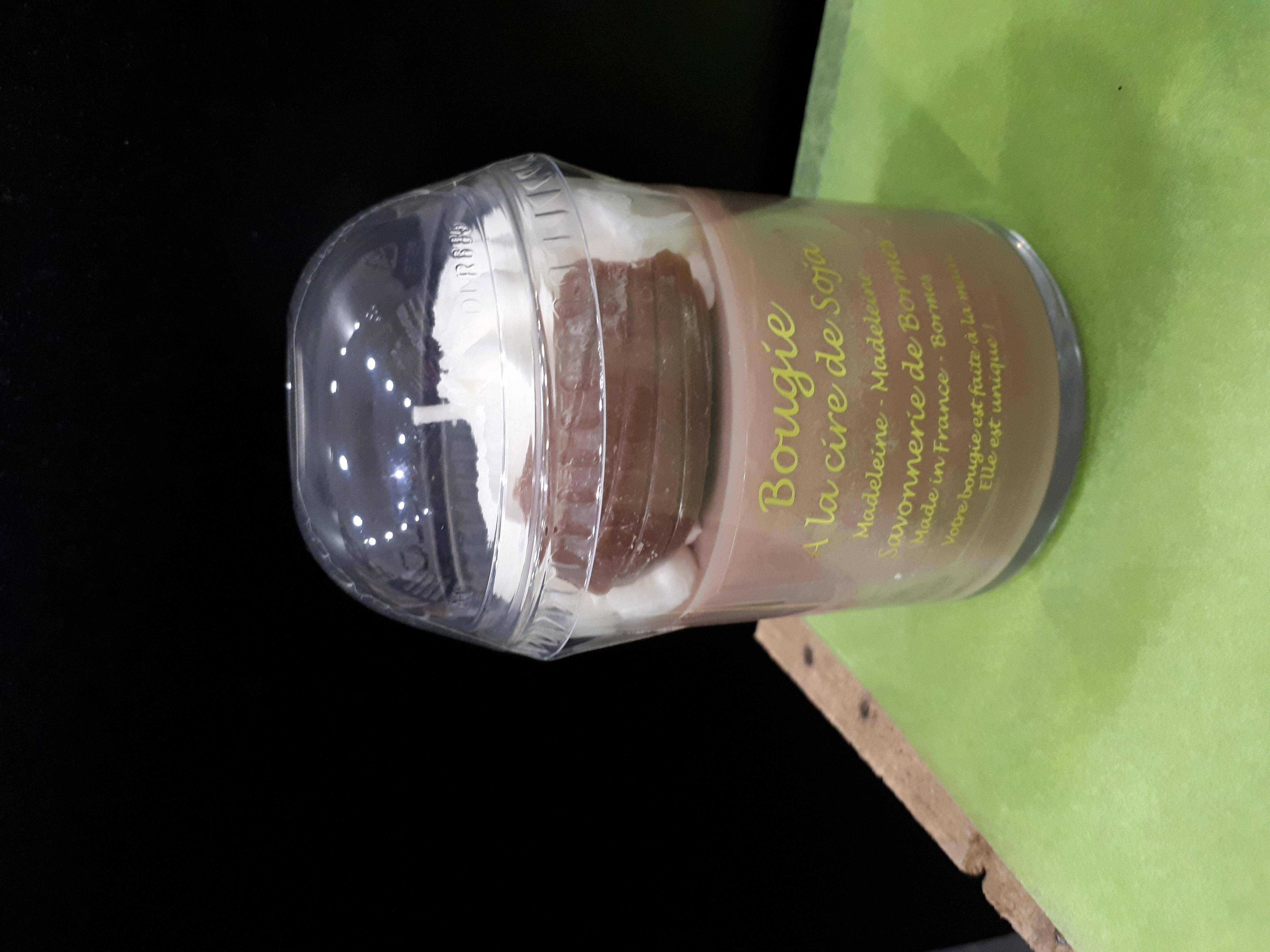 bougie crème fouettée