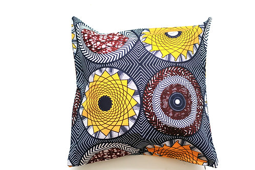 African wax print cushion cover 8