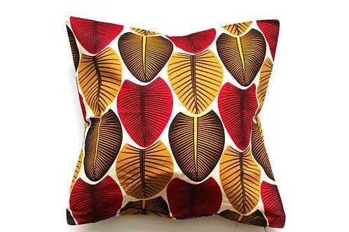 African wax print cushion cover