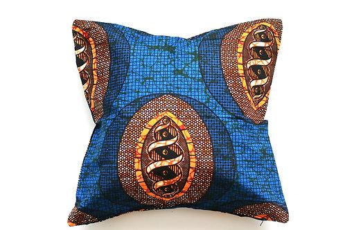 African wax print cushion cover 11
