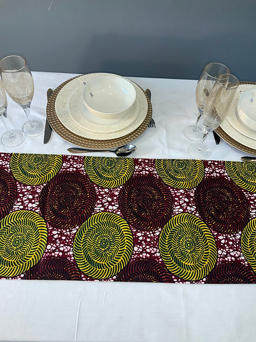 Ankara table runner