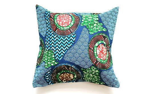 African wax print cushion cover 6