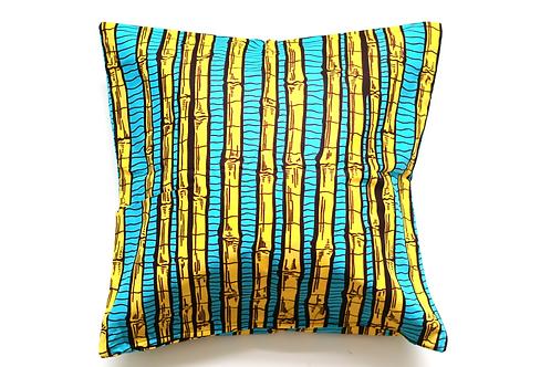 African wax print cushion cover 2