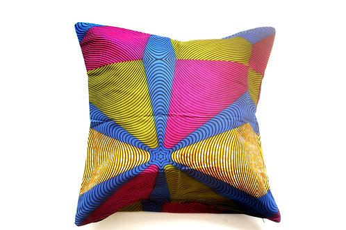 African wax print cushion cover 4