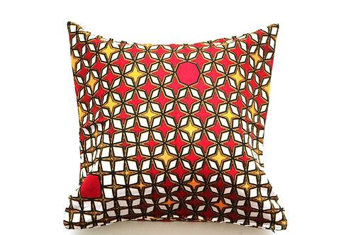 African wax print cushion cover 15