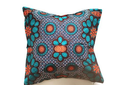African wax print cushion cover 14