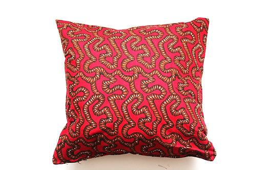 African wax print cushion cover 16
