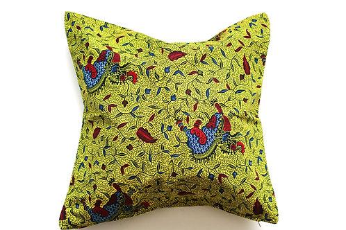 African wax print cushion cover 12
