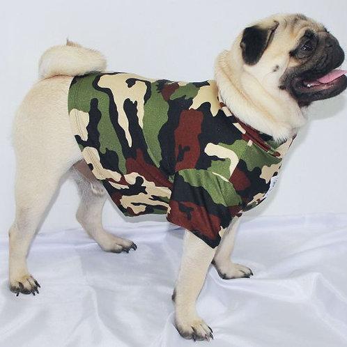 Commando Swim Top - Khaki