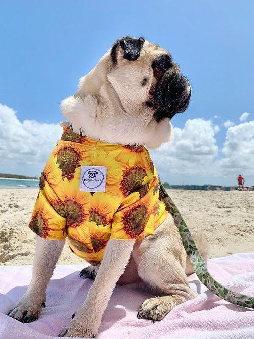 Sunflower Swim Top