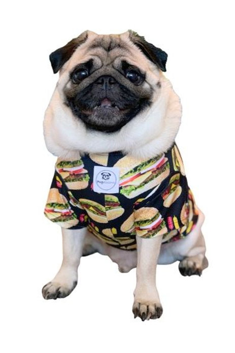 Hamburger Swim Top