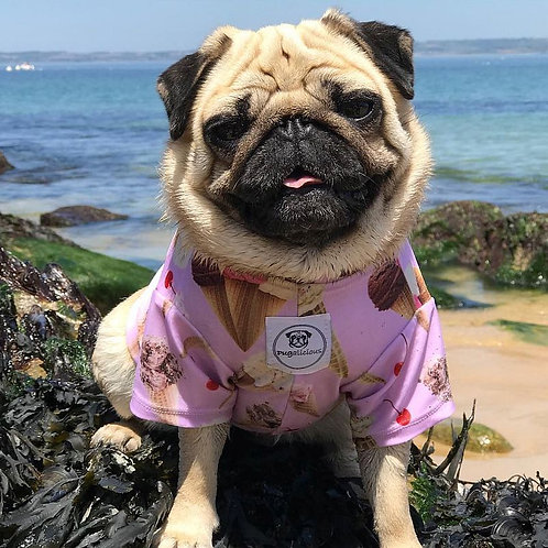 Lick my Ice Cream Swim Top - Lilac