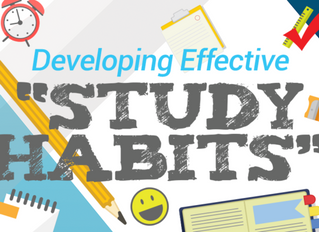 The Principle of Self-Investment:  Study Habits Produce More Than Grades