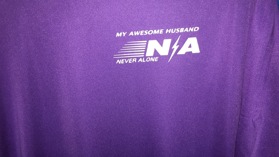 My Awesome Dad Dri-Fit (Personalize Only $2.99) 100% Polyester N/A Never Alone