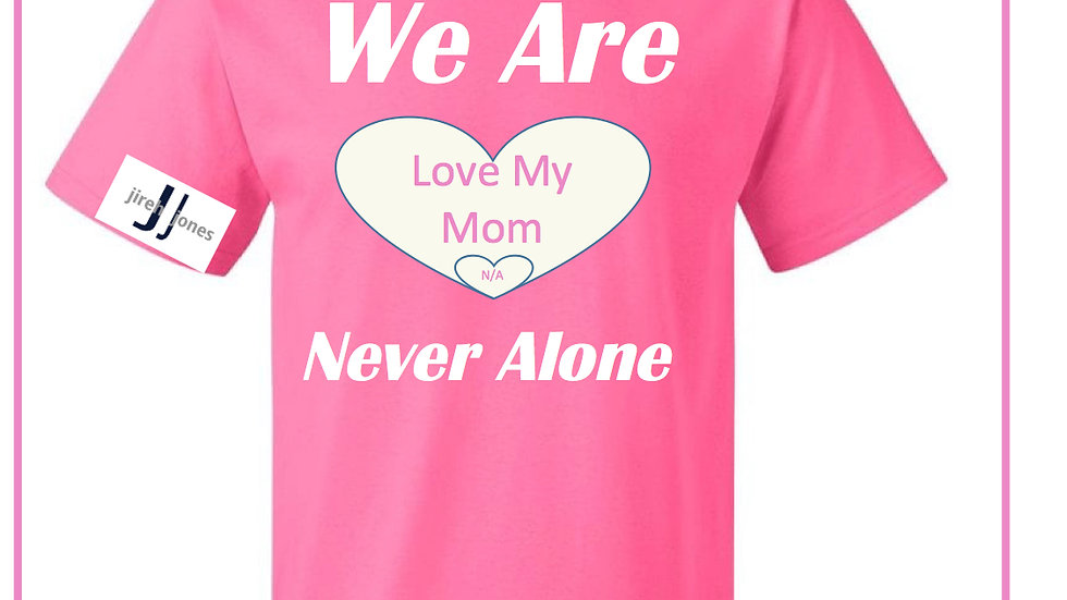 Large Heart Mother's Day Love My Mom We Are N/A