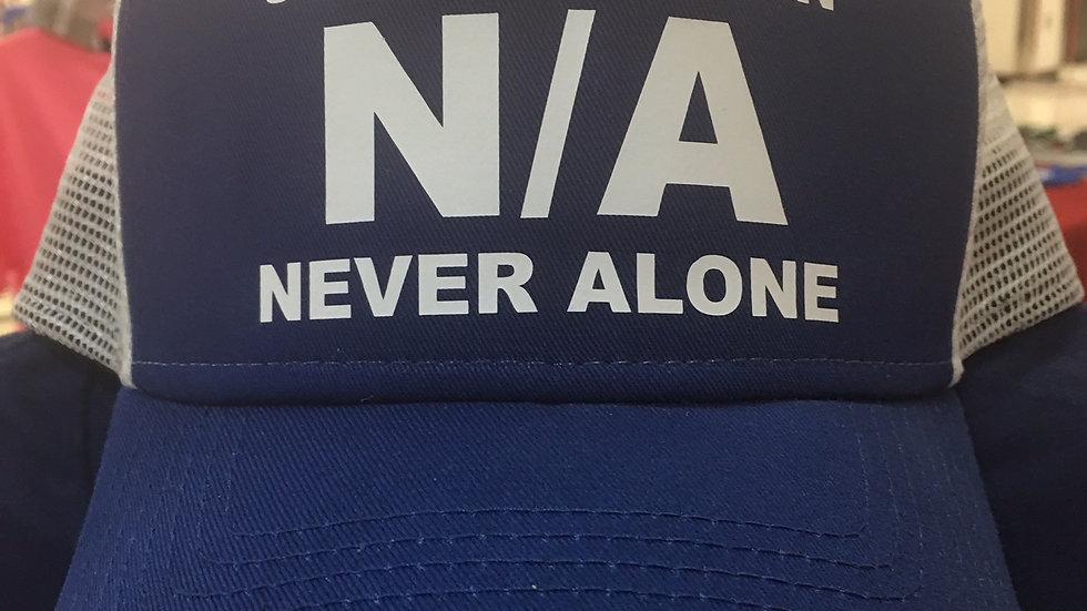 Hat: USAF Veteran N/A Never Alone