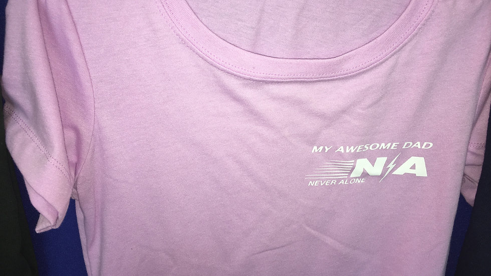 Scoop or V-Neck (Personalize for only $2.99 N/A My Awesome Dad or Husband Female