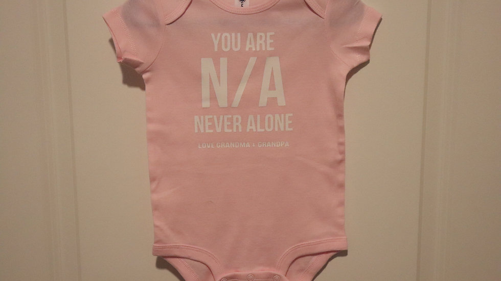 Onesie (Unisex) You Are N/A Love Grandma & Grandpa (Personalize $2.9