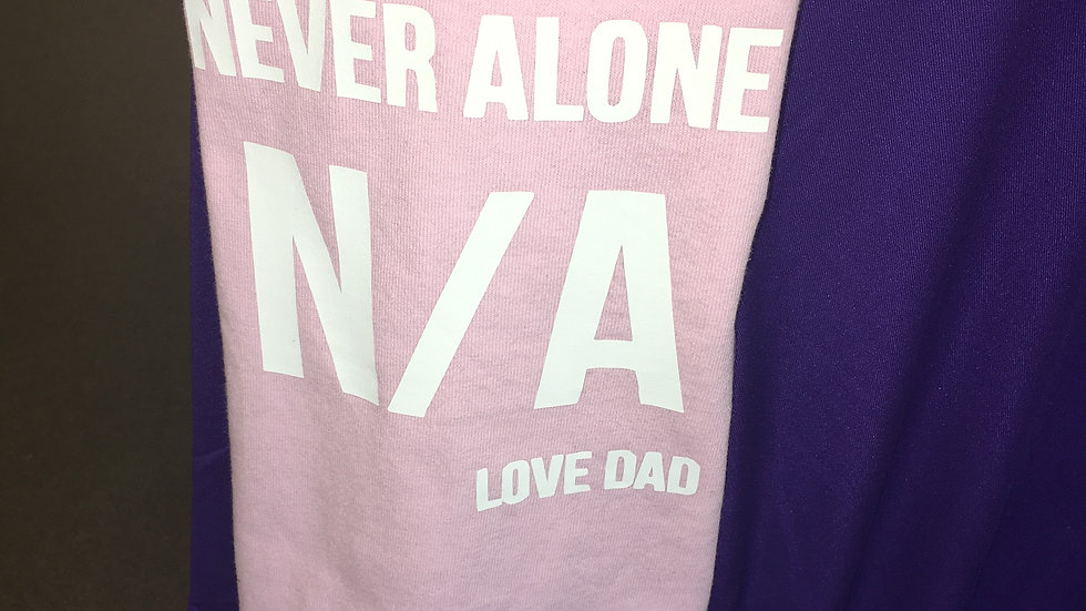 Child Never Alone Love Dad N/A