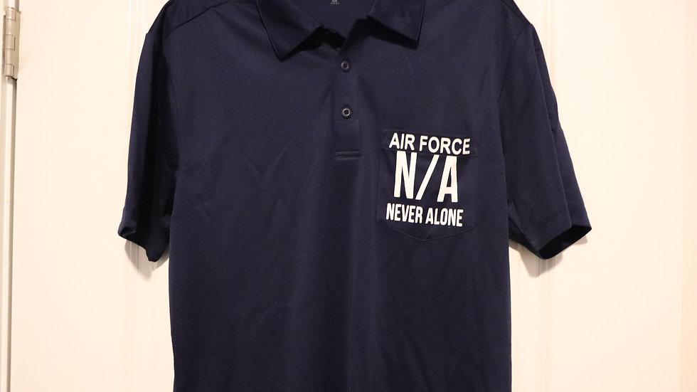 Polo Pocket USAF Retired N/A Shirt