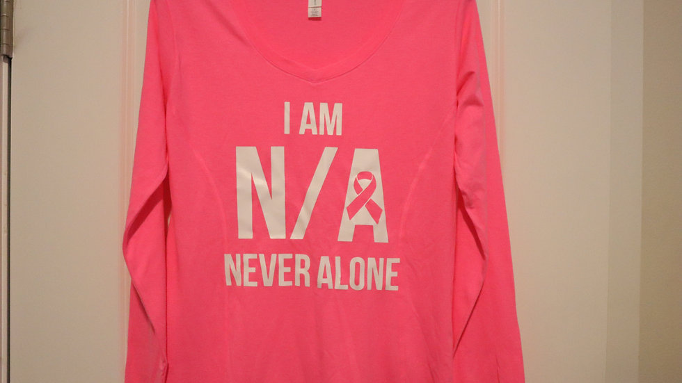 I Am N/A Long Sleeve (Personalize $4.99)