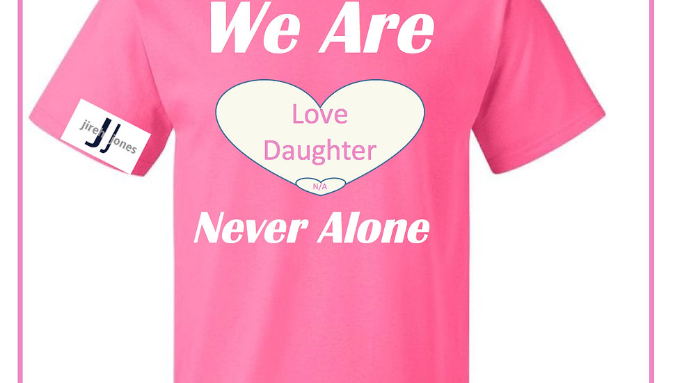 Large Heart Mother's Day Love Daughter We Are N/A