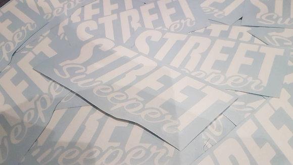 Street Sweeper - Sticker