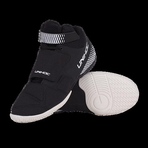 Unihoc U4 GOALIE Shoes black