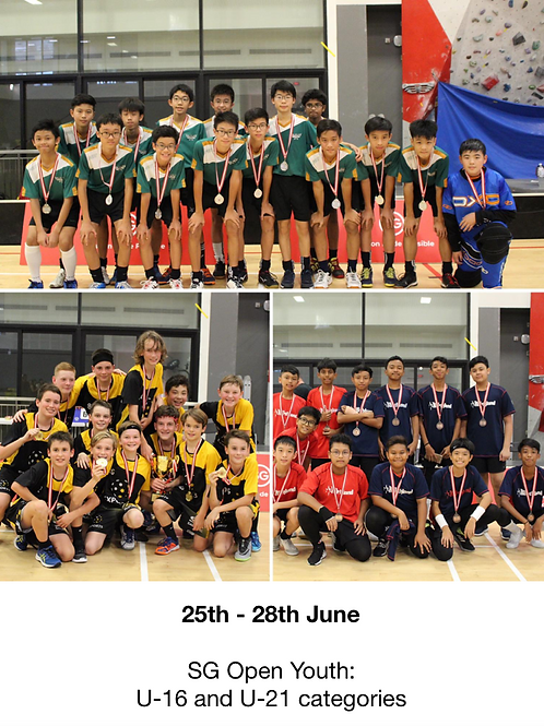 SG Open Youth 2020 (U-16 & U-21)