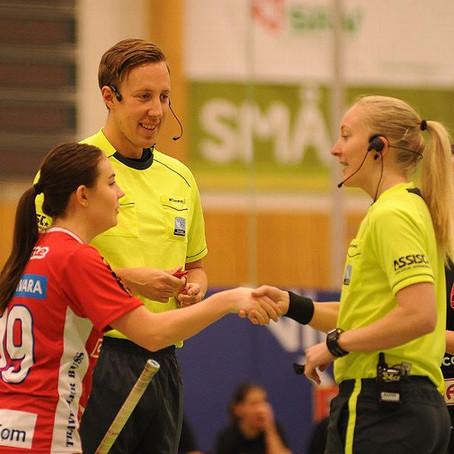 Referees: Madelene Westerberg