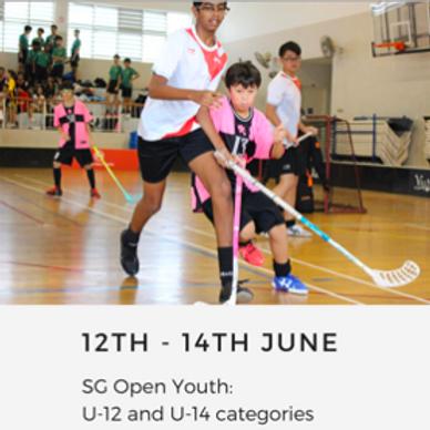SG Open Youth 2020 (U-12 & U-14)