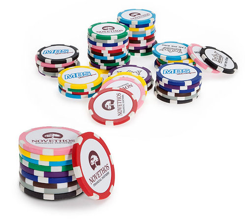 GOLF Ballmarker Poker Chip