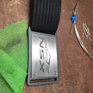Custom Belt B+C Titanium NSX