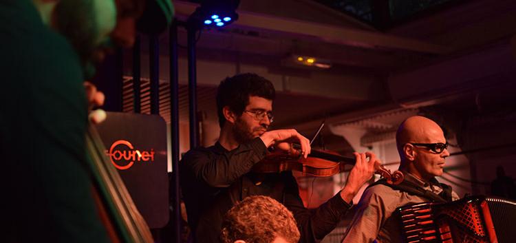 Gabriel Bismut & Maurizio Minardi quartet at Peniche Marcounet (Paris)
