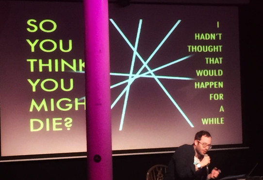 So You Think You Might Die? by Adam Lenson