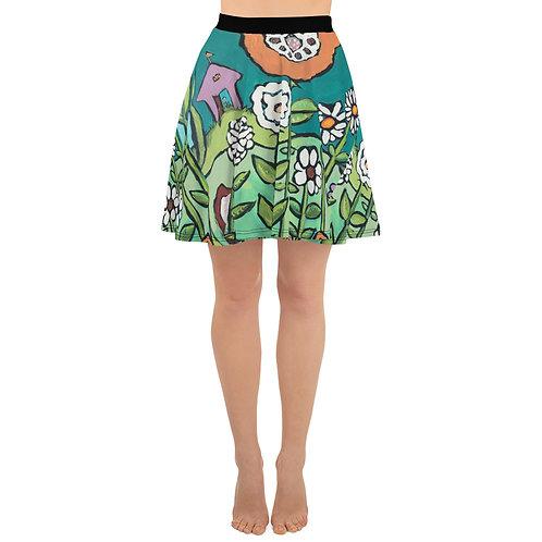 Aqua Garden & Chicken Skirt