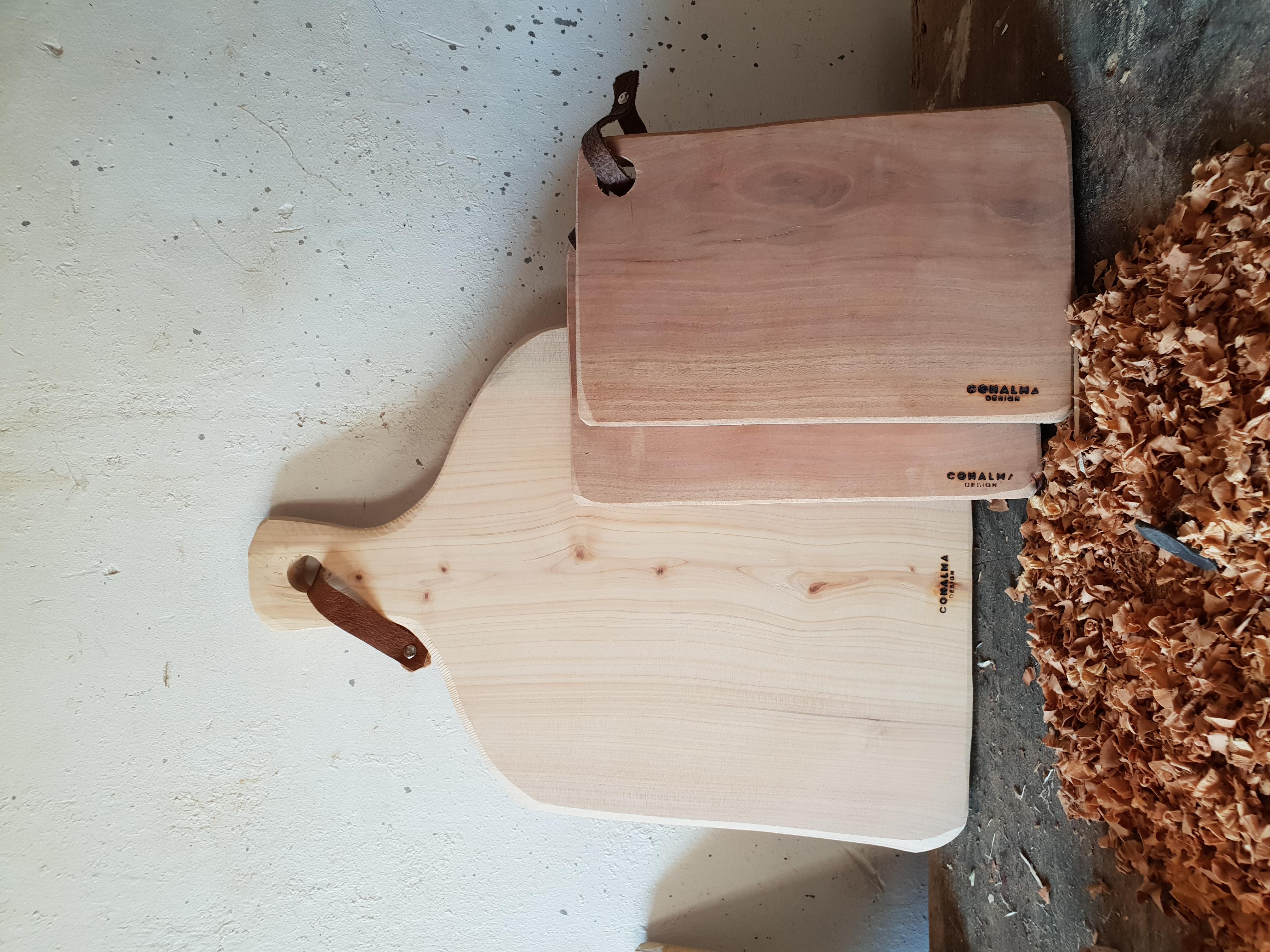 Tabla ciprés y almendro