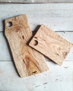 Tablas rectangulares de olivo