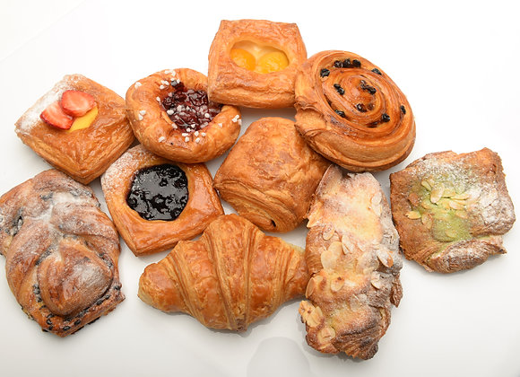 New Pastries Assortment 6pc - Ready to Bake